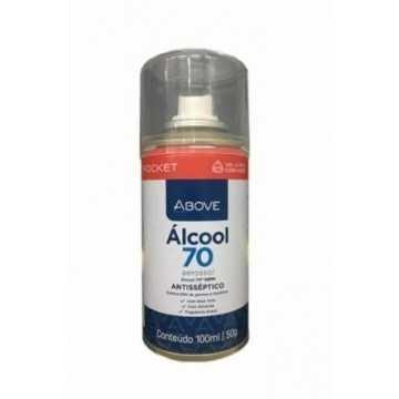 ÁLCOOL AEROSSOL 70%...