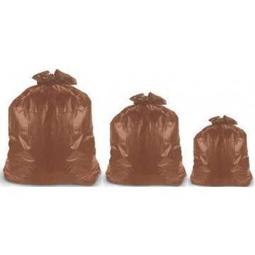 Saco para Lixo Marrom